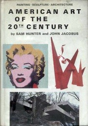 Cover of: American art of the 20th century | Sam Hunter