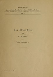 Cover of: Das Gibbon-Hirn
