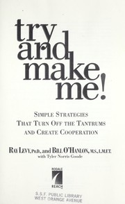 Cover of: Try and make me! | Ray Levy