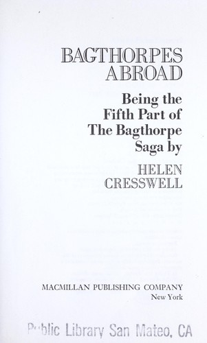 Bagthorpes abroad