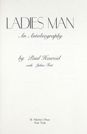 Cover of: Ladies man : an autobiography |