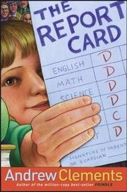 Cover of: The report card | Andrew Clements