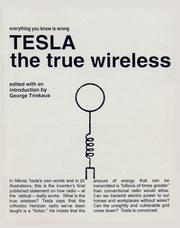 Cover of: Tesla: The True Wireless
