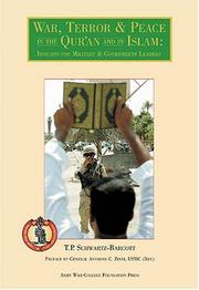 Cover of: War, Terror & Peace In The Qur'an And In Islam: Insights For Military & Government Leaders
