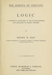 Cover of: The science of thought