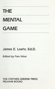 Cover of: The mental game
