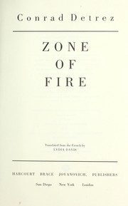 Cover of: Zone of fire