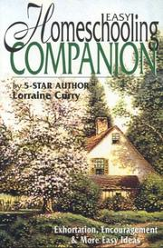 Cover of: Easy Homeschooling Companion | Lorraine Curry