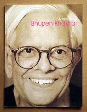Cover of: A tribute to Bhupen Khakhar
