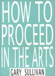 Cover of: How To Proceed in the Arts