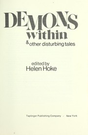Demons within, & other disturbing tales