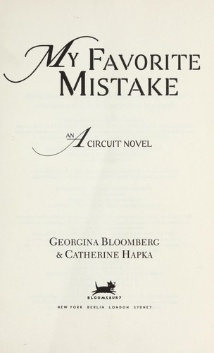 About My Favorite Mistake
