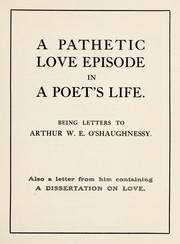 Cover of: A pathetic love episode in a poet's life