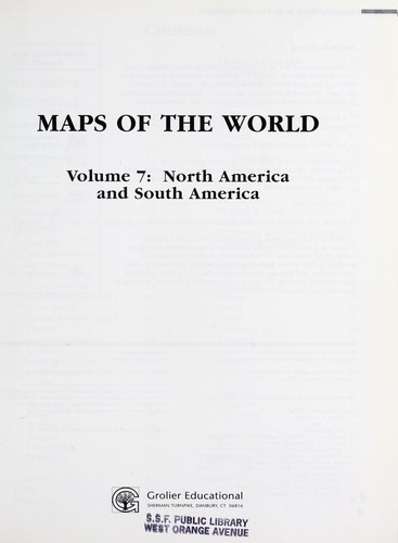 Maps of the World 10VOL by Grolier Educational