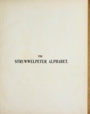 Cover of: The Struwwelpeter alphabet