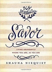 Cover of: Savor |