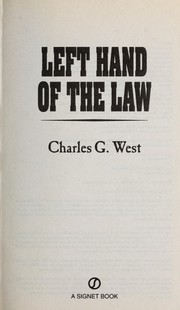 Cover of: Left hand of the law