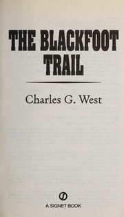 Cover of: The Blackfoot trail