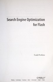 Cover of: Search engine optimization for Flash | Todd Perkins
