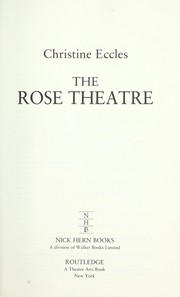 Cover of: The Rose Theatre