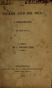 Cover of: The miller and his men