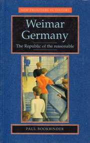 Cover of: Weimar Germany |