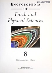 Cover of: Encyclopedia of earth and physical sciences. |