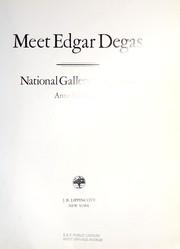 Meet Edgar Degas