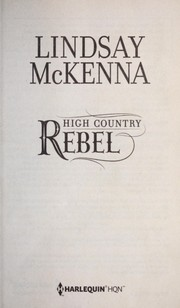 Cover of: High country rebel | Lindsay McKenna