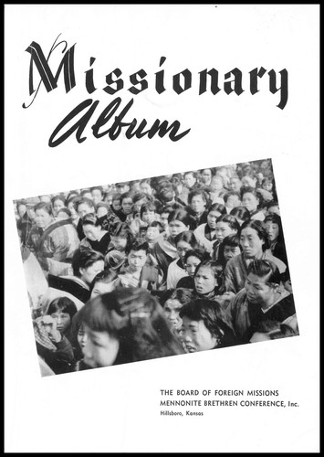 Missionary Album by edited by A.E. Janzen