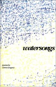 Cover of: Watersongs