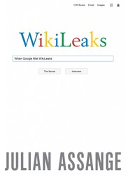 Cover of: When Google Met Wikileaks
