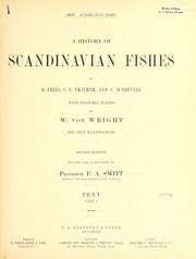 Cover of: A history of Scandinavian fishes