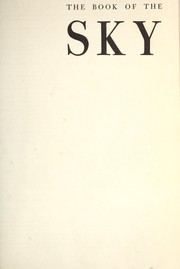 Cover of: The book of the sky