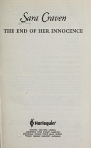 Cover of: The end of her innocence | Sara Craven