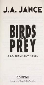 Cover of: Birds of prey | Judith A. Jance