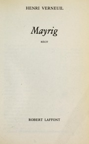 Cover of: Mayrig