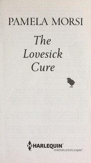 Cover of: The lovesick cure