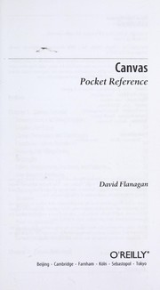Cover of: Canvas pocket reference
