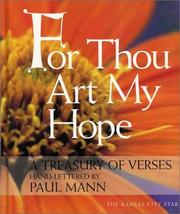 Cover of: For Thou Art My Hope