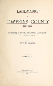 Cover of: Landmarks of Tompkins County, New York