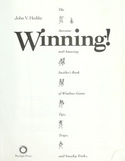 Cover of: Winning!