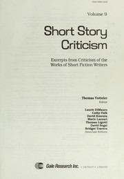 Cover of: Short Story Criticism | Thomas Votteler