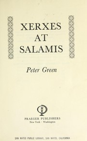Cover of: Xerxes at Salamis