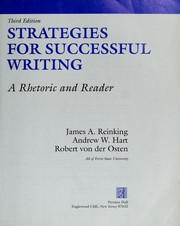 Cover of: Strategies for successful writing. A rhetoric and reader | James A. Reinking