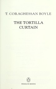 Cover of: The tortilla curtain