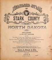 Cover of: Standard atlas of Stark County, Illinois | Geo. A. Ogle & Co