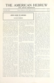 Cover of: Jews close to Lincoln