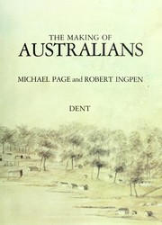 Cover of: The Making of Australians | Michael Page