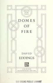 Cover of: Domes of fire
